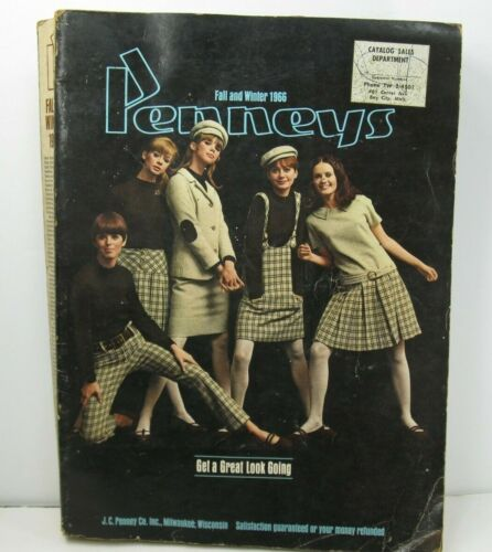 Penneys JC Penney 1966 Fall and Winter Catalog 1095 Pages FREE SHIPPING!
