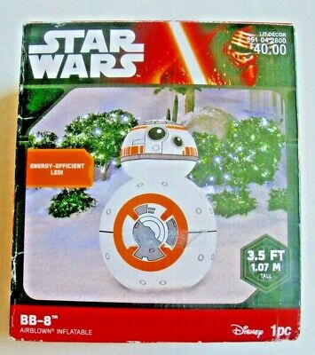 Disney Star Wars BB-8 Airblown Inflatable Lawn Decoration 3.5Ft Christmas Decor