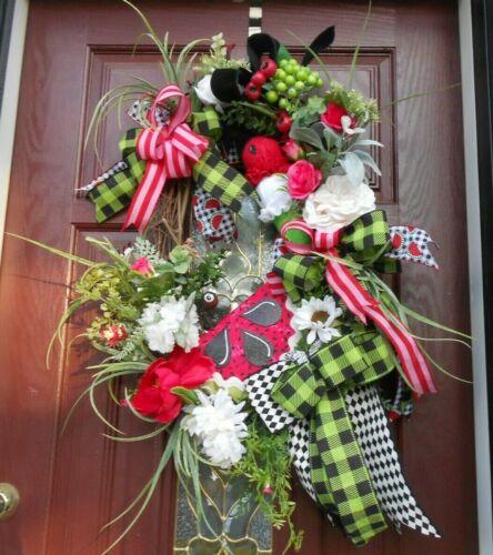 Watermelon summer wreath, Ice Cream wreath