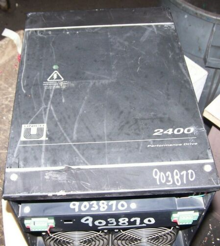 UNICO 2400 AC MODULAR CONVERTER 75 HP MODEL 2490 460 VAC INPUT