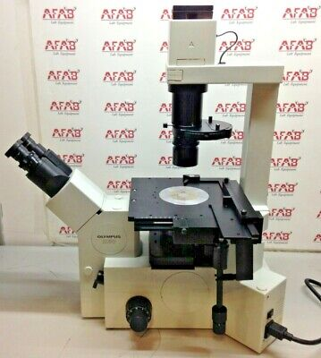 Olympus Ix50 Inverted Phase Contrast Microscope