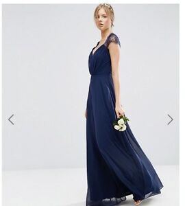 Navy dresses (sizes 0 and 6)