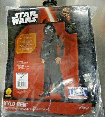 Rubie's Children's Medium 620084 Star Wars Kylo Ren Costume New