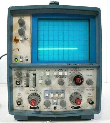 Tektronix T935a Dual Channel Analog Oscilloscope Free Shipping