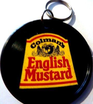 "COLMAN'S ENGLISH MUSTARD "" , Vintage  1970's - 1980's   BADGE **2 "" *******"