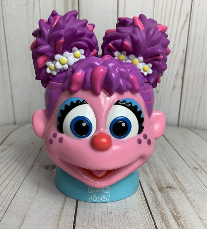 FAIRY Abby Cadabby Sesame Street LIVE flip top MUG cup purple pink HTF