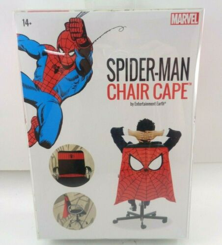 Spider-Man Chair Cape by Entertainment Earth Fits Most Chairs Work Dorm Offices