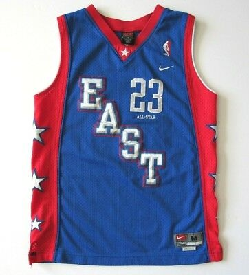 e99f1c62b68 Boy s Size M Nike NBA All-Star Lebron James  23 Eastern Conference Jersey