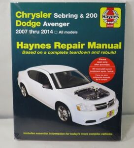 chrysler sebring repair manual ebay rh ebay com Sebring Car Sebring Car