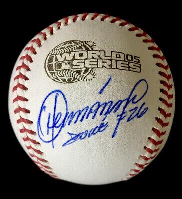 Orlando Hernandez NY Yankees 2005 WS Autographed Signed Baseball JSA COA W/Inscr Orlando Hernandez Autographed Baseball