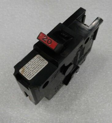 Na20 Federal Pacific Stab-lok Breaker 1 Pole 20 Amp 120v 2 Year Warranty