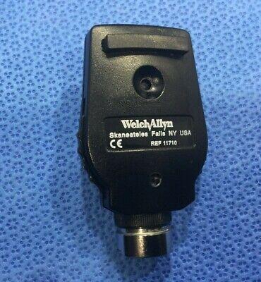 1 Welch Allyn Ref 11710 3.5v Standard Ophthalmoscope Head W Bulb  Akp