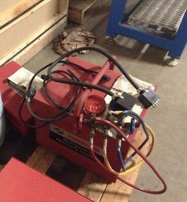 Robinair 17660 Refrigerant Recovery System Compressor Unit Bt