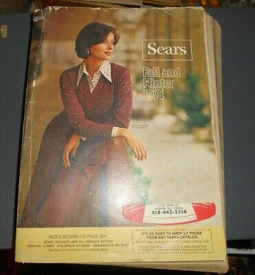 1974 Sears Fall Winter Catalog MCM Furniture Fashions