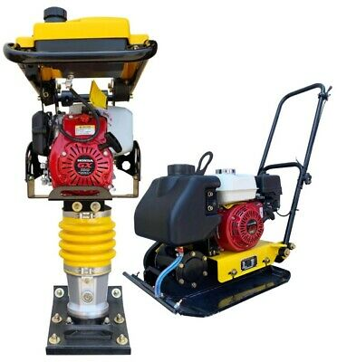 Honda Tamper Rammer And Plate Compactor Combo Jumping Jack 3 Year Warranty
