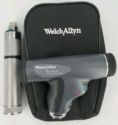 Welch Allyn 3.5v Panoptic Ophthalmoscope With Direct Plug-in Rechargeable Handle