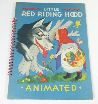 The Little Red Riding Hood Animated By Julian Wehr - Animated Red Riding Hood