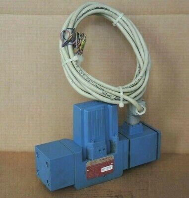 Netstal Moog D661z2712f P80hxamfnea2 Hydraulic Servo Jet Valve With Cable