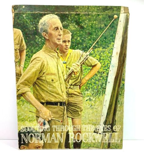 Scouting Through the Eyes of Norman Rockwell COMPLETE SET (44) #2768 Prints