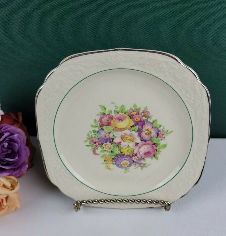 Edwin M. Knowles S2-1 - Bread and Butter Plate
