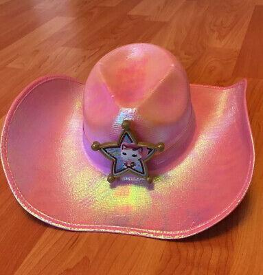 Disney Jr Halloween Costumes (DDISNEY JR Sheriff Callie PINK COWGIRL HAT HALLOWEEN COSTUME ACCESSORY DRESS)