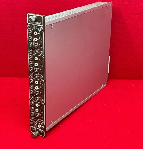 Ametek Ortec 935 Quad CFD Constant-Fraction 200-MHz Discriminator NIM BIN Module
