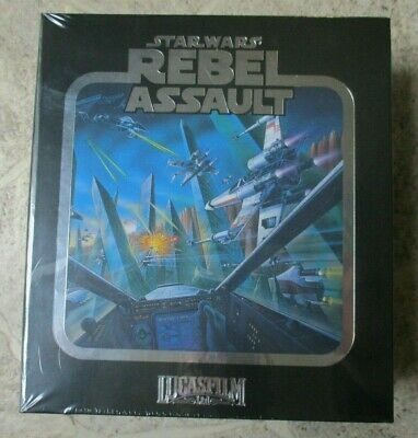 STAR WARS REBEL ASSAULT Limited Run SEGA MEGA CD SMD OVP