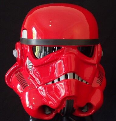 STAR WARS STORMTROOPER HELMET MAGMA NEW FULL SIZE PROP 1:1 ARMOUR COSTUME  (Full Stormtrooper Armor)