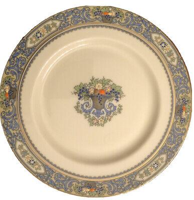 "3 Lenox Autumn Fine China Salad Dessert 8 3/8"" Plates Fab Cond Gold Backstamp"