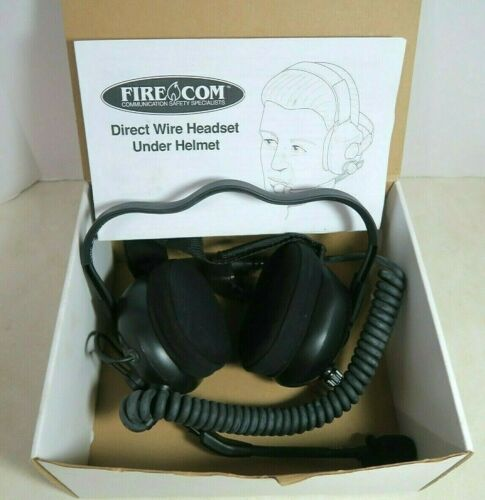 FireCom DW-22U Direct Wire Under Helmet Communication Headset XTS HT1000 MTS2000