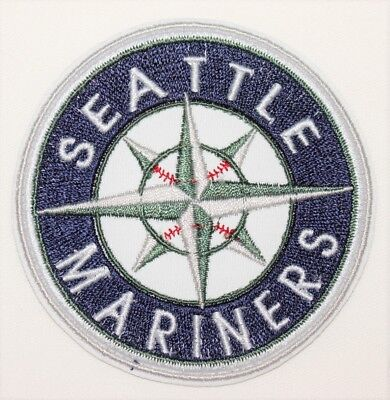 Seattle Mariners Baseball (Seattle Mariners Baseball Embroidered  Iron Patches - Free Shipping  Made in)