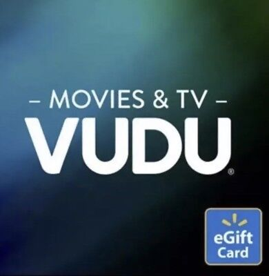 Email Gift Certificate ($15 Vudu Credit for movies or shows  - Email)