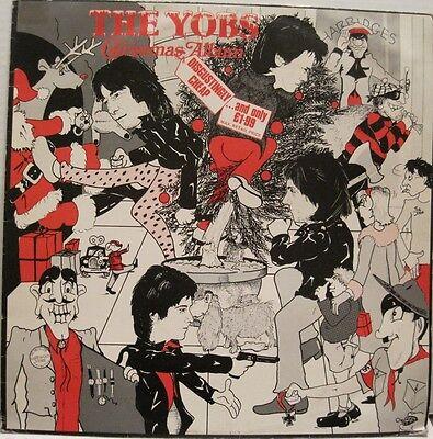 THE YOBS (aka The Boys) - CHRISTMAS ALBUM - LP - UK -  Punk Pop  oop rare L@@K ()