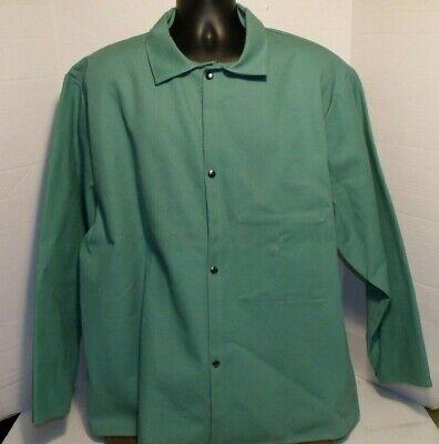 Westex Proban Fr-7a Flame Resistant Cotton Welding Jacket Shirt Sz Xxl Lot Of 2