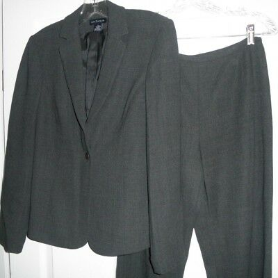 ANN TAYLOR Size 6 Lightweight Wool Blend 2-pc Suit Jacket & Pants Fully Lined