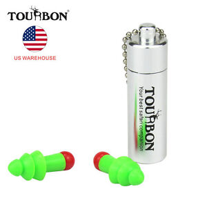 Tourbon Hearing Protection Noise Reduction Ear Plugs Hunting Shooting Sleeping