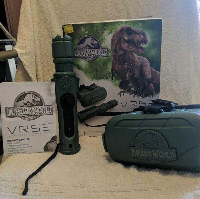 VRSE Jurassic World Virtual Reality Entertainment Sys. Smartphone Headset Works