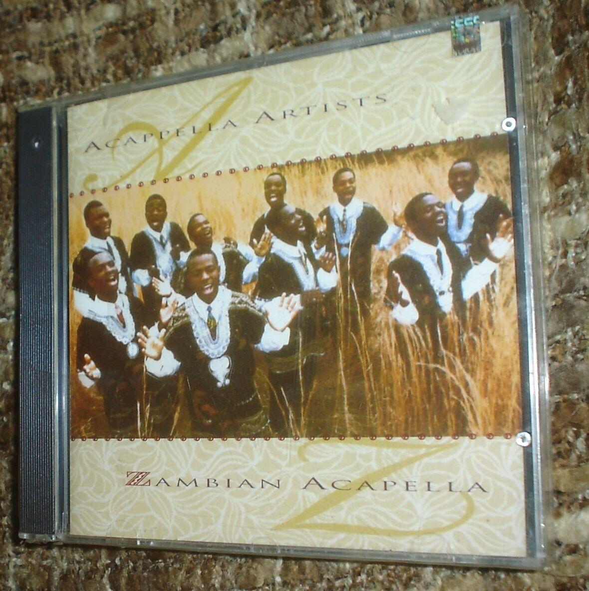 ZAMBIAN ACAPELLA CD, NEW AND SEALED, VERY RARE, ACAPPELLA ARTISTS, 10 TRACKS