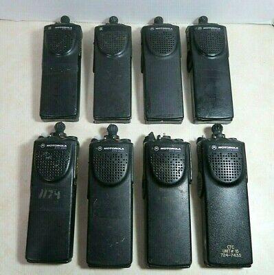 Lot Of 8 Motorola Xts3000 800 Mhz Radio H09ucc9pw5bn