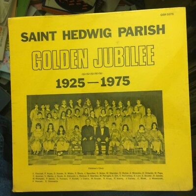 Polish Christmas Carols (SAINT HEDWIG PARISH CHOIR GOLDEN JUBILEE 1925-1975 POLISH HYMNS CHRISTMAS)