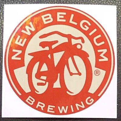 BIG Beer/Brewery Sticker - New Belgium Brewing Bicycle Sticker