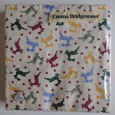 Emma Bridgewater Christmas Rainbow Reindeer Lunch Napkins Pack of 20