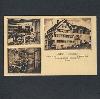 Schweiz TEUFEN Appenzell / Gasthaus Schäflisegg * AK um 1920