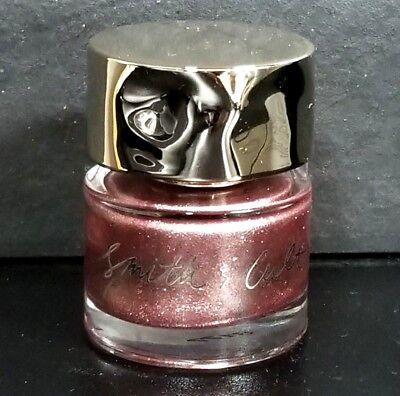 Smith & Cult Nail Polish ~ CEREMONY OF SECRETS rose gold glitter 0.5 oz NWOB m1