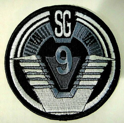 Stargate SG-9 Uniform Logo Embroidered Patch - new