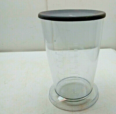 Pick 1] Breville Measuring Pitcher Cup Calibrated Baking Juicing Jug Clear Poly ()