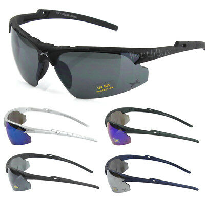 Mens Womens Outdoor Sports Wrap Sunglasses Baseball Cycling Running Driving (Womens Running Sunglasses)