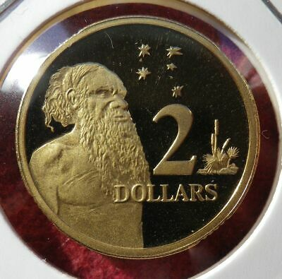 - 1992 Australian Proof Two Dollar ($2) Coin! Ex Ram Proof Set! Free Post Aust!