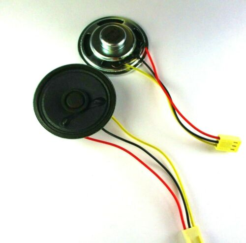 1pc Piezo Speaker 45 Ohm 1W K9586-1, 3 pin female Connector, USA