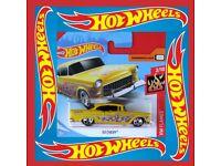 HOT WHEELS 2018 ´55 Chevy 12 HW Flames neu in OVP